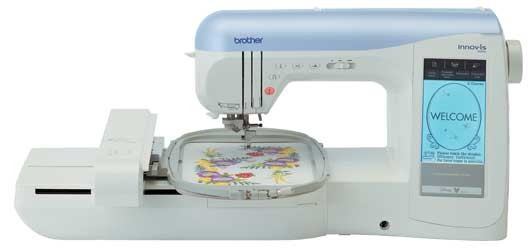 Máquina de coser bordadora BROTHER Innovis 1500