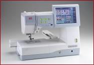 Máquina de coser bordadora ALFA MC 11000