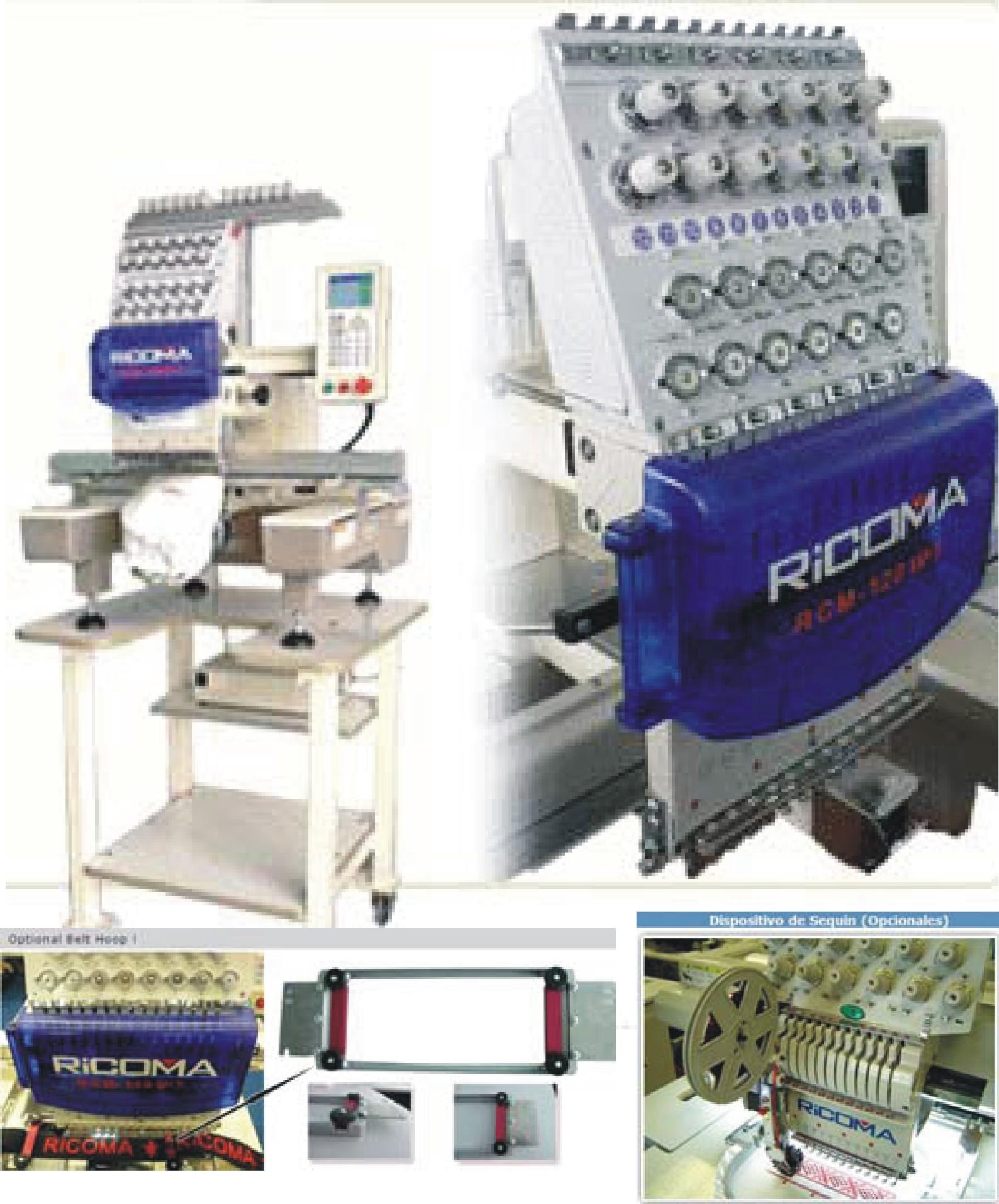 Máquina de coser bordadora HF-1201PT
