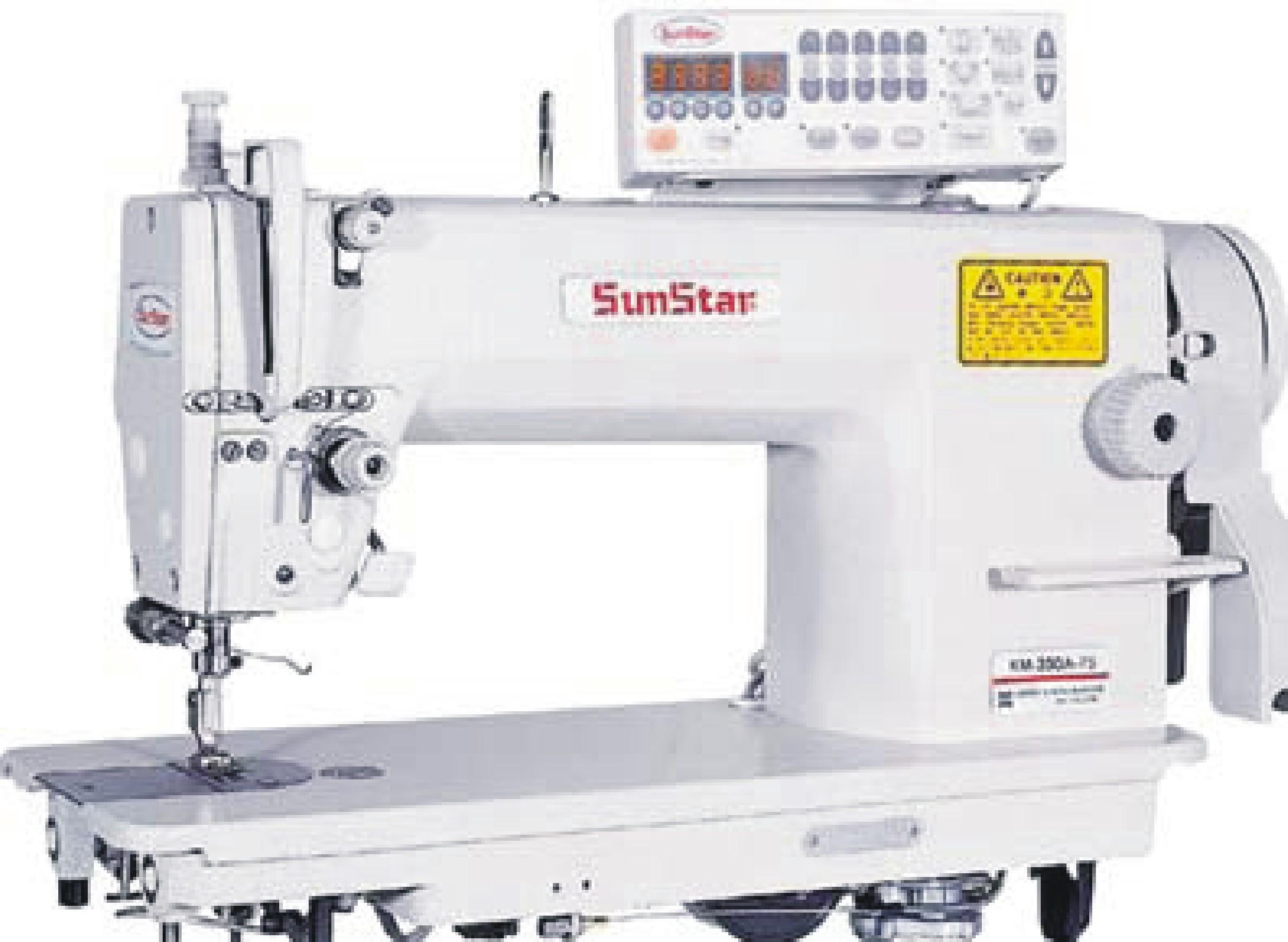 Máquina de coser industrial SUNSTAR KM-350BL-7S-AK
