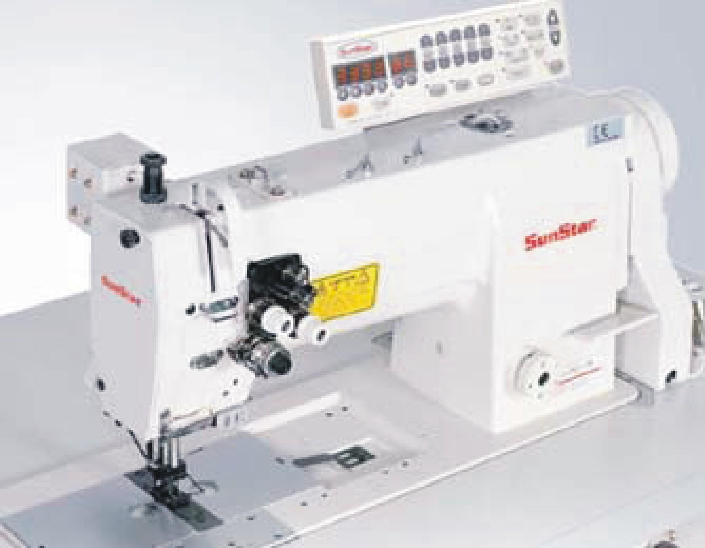Máquina de coser industrial SUNSTAR KM-757BL-7S-AK