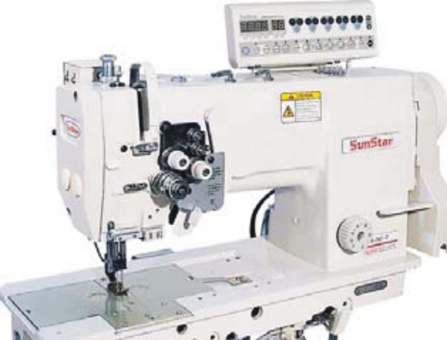 Máquina de coser industrial SUNSTAR KM-797-7S-AK